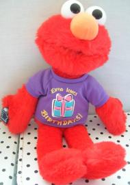 Sesamstraat Elmo knuffel rood met truitje | Applause