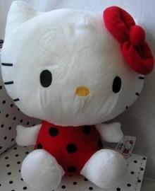 Hello Kitty knuffel lieveheersbeestje met vleugeltjes | Sanrio