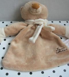 Bruno beer knuffeldoekje bruin   Tiamo