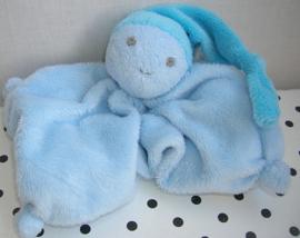 Knuffeldoek softdoek blauw klein model | Difrax