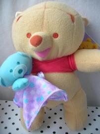 Winnie the Pooh Disney knuffel met beertje | Fisher Price