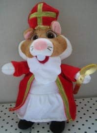 Hamster knuffel als Sinterklaas | Albert Heijn