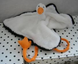 Ooievaar stork Scoobi knuffeldoekje | Happy Horse