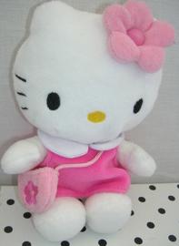 Hello Kitty knuffel met tasje | Sanrio
