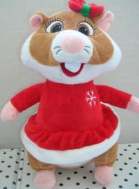 Hamster knuffel als kerstvrouw | Albert Heijn