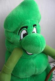 Boom Danny knuffel groen met tak | Drouwenerzand