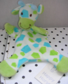 Blue Goffy giraffe knuffeldoekje | Happy Horse