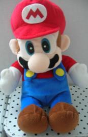Vintage Mario Super Mario Nintendo knuffel met geluid