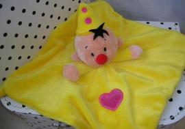 Bumba het clowntje knuffeldoekje geel | Studio 100