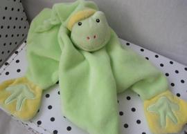 Kikker Grenouille knuffeldoek groen | Gipsy