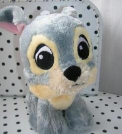 Vagebond Tramp Disney hond knuffel grijs | Nicotoy