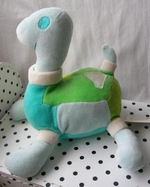 Schildpad Blue Telly knuffel no. 2 blauw | Happy Horse