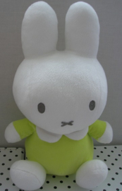 Nijntje knuffel groen zittend model | Tiamo