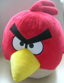 Angry Birds Red Bird knuffel vogel rood