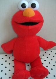 Sesamstraat Elmo knuffel rood | Fisher Price