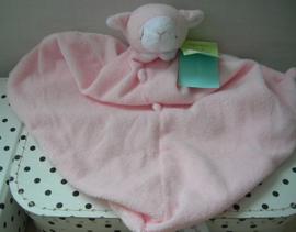 Schaap Lamb knuffeldoekje roze | Angel Dear