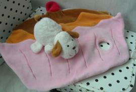 Knuffeldoek hond en cupcake | Egmont Toys