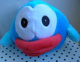 Flappy Bird knuffel vogel blauw