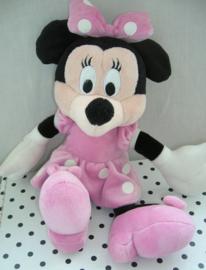 Minnie Mouse Disney knuffel in roze jurkje | Nicotoy