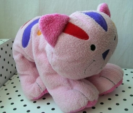 Poes knuffel roze | Unitoys