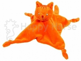 Dikkie Dik knuffeldoekje oranje | Happy Horse