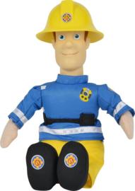 Brandweerman Sam knuffel pop