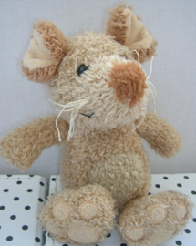 Muis knuffel Maddy bruin | Happy Horse