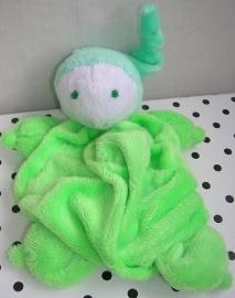 Knuffeldoek softdoek groen | Difrax