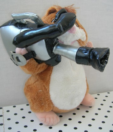 Hamster knuffel als cameraman | Albert Heijn