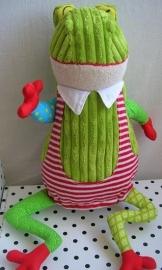 Kikker knuffel Croakas groen | Deglingos