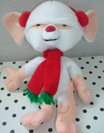 Muis Pinky knuffel Kerstmis | Pinky and the brain Warner Bros