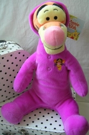 Teigetje Tigger Disney knuffel in paars pak