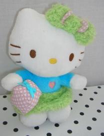 Hello Kitty knuffel blauw met kado | Sanrio
