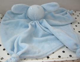 Konijn knuffeldoek blauw | La Petite Couronne