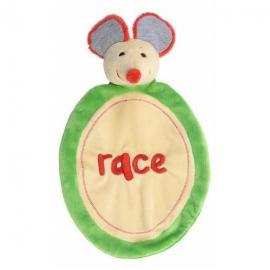 Muis Race knuffeldoekje | Happy Horse