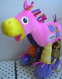 Paard Trotter knuffel roze | Lamaze