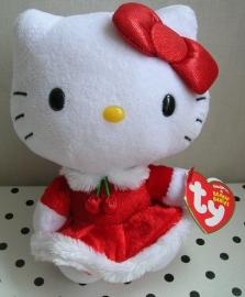 Hello Kitty knuffel kerstjurkje | TY