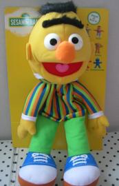 Sesamstraat  Bert knuffel handpop