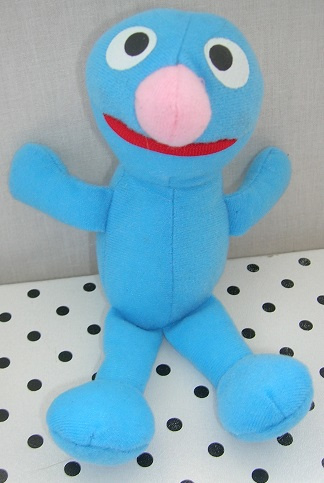 Sesamstraat Grover knuffel blauw | Tyco