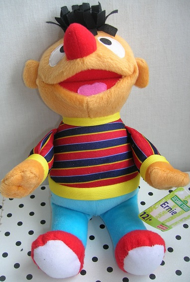 Sesamstraat Ernie knuffel | Fisher Price