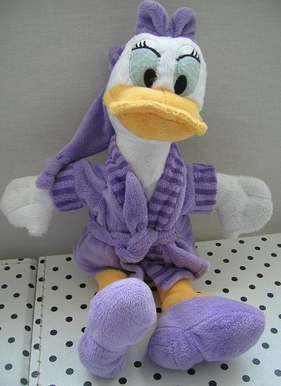 Katrien Duck Disney knuffel eend in badjas | Nicotoy