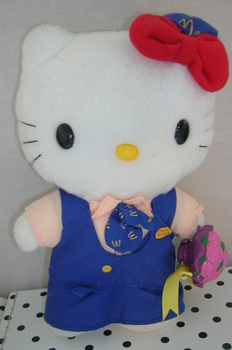 Hello Kitty knuffel  McDonalds   Sanrio