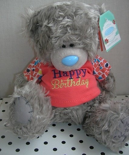 Beer knuffel Happy Birthday   Me to You G01W3551G3