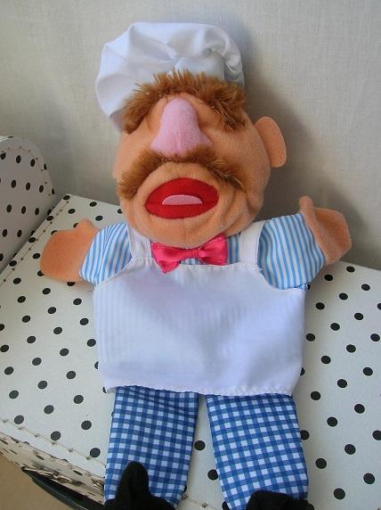 Zweedse kok Muppets handpop | AH