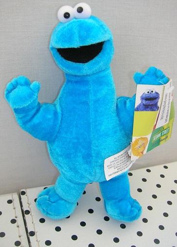 Sesamstraat Koekiemonster knuffel blauw | PMS