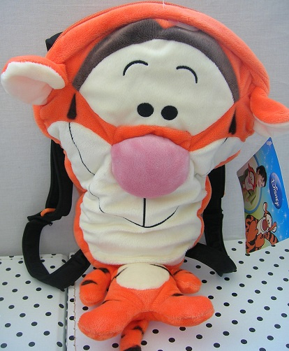 Disney Teigetje Tigger knuffel rugzak