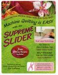 "Supreme Slider Size 11½""x 8"" - 28 x 20 cm"