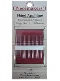 Piecemakers Hand Appliqué  Sharps size 12