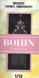 Bohin Embroidery needles - Size 1/10