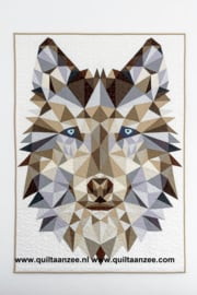 JACKIE the Wolf - pattern and fabric